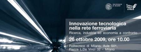 Innovazione tecnologica rete ferroviaria