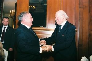 Presidente con Veronesi