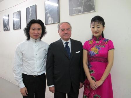 Colombo Clerici con Jian Kemei e Kapang