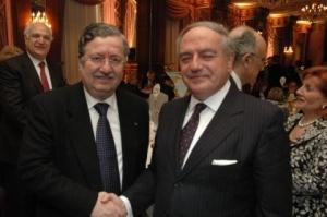 Achille Colombo Clerici con il Prefetto Lombardi