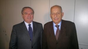 presidente con Angelo Simontacchi