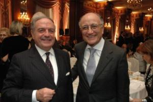 Presidente con Saverio Borrelli