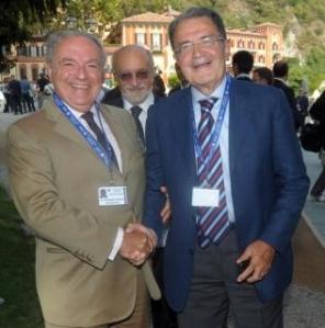 foto presidente con Prodi