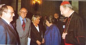 presidente con Cardinale Martini