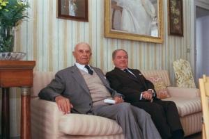 Con il Conte Giuseppe Barbiano di Belgiojoso