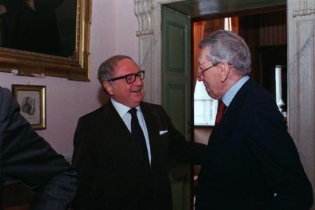 Colombo Clerici con l'Amb. Sergio Romano