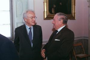Colombo Clerici con Prof. Giovanni Bazoli