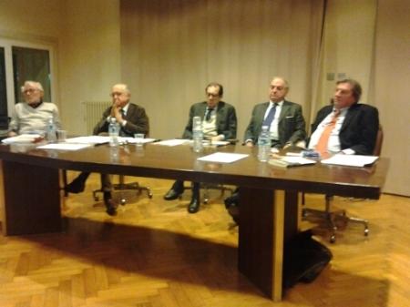 Italo Piccoli, Achille Colombo Clerici, Salvatore Carrubba, Alberico Belgiojoso, Andrea Villani