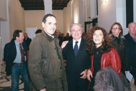 Achille Colombo Clerici con Franco Mirabelli e Marilisa D'Amico