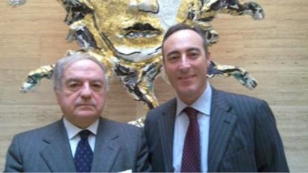 Colombo Clerici con Giulio Gallera