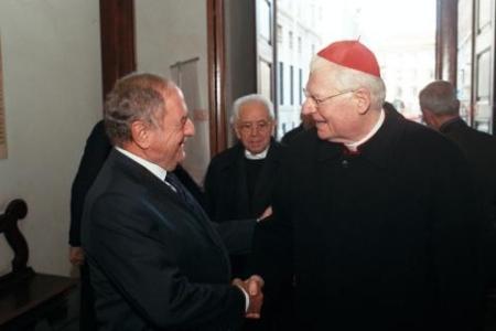 foto pres e cardinale Scola
