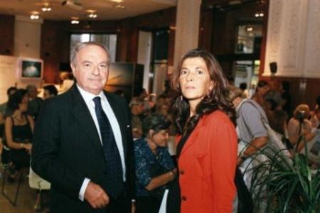Achille Colombo Clerici con Marilisa D'Amico