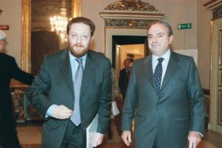 Achille Colombo Clerici con Riccardo De Corato