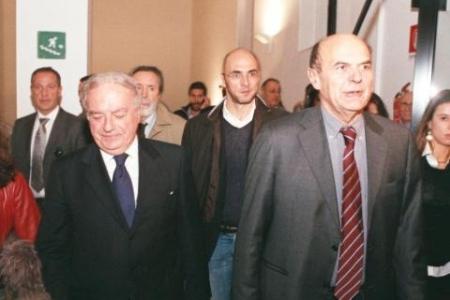 Colombo Clerici con Pierluigi Bersani