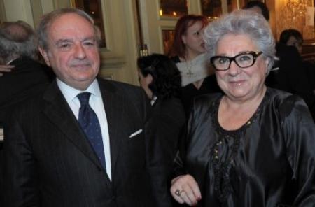 Excellent 2013 Achille Colombo Clerici con Livia Pomodoro