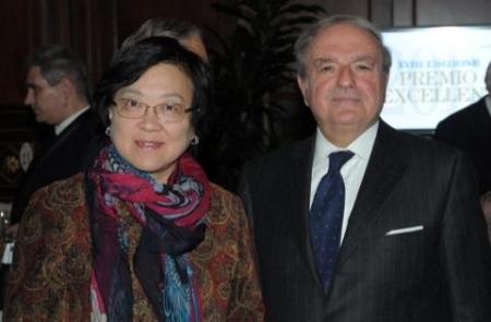 Excellent 2013 Colombo Clerici con il Console Generale di Cina Signora Liang Hui