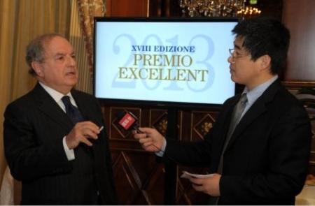 Excellent 2013 Colombo Clerici intervistato da CRI Radio China International