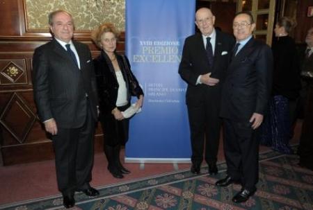 Excellent 2013 da sin. Achille Colombo Clerici, Luisa Boselli, Mario Boselli, Mario Mancini