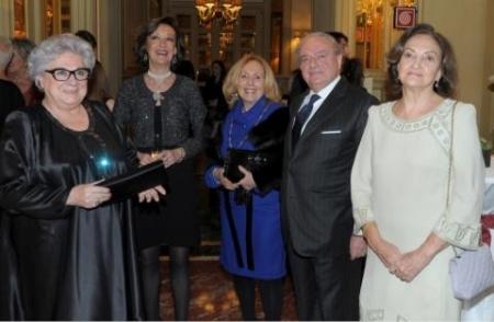 Excellent 2013 Da sin. Livia Pomodoro, Giovanna Colombo Clerici, Achille Colombo Clerici, Anna Crespi Morbio