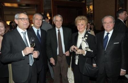 Excellent 2013 Da sin. Paolo Casella, Giuliano Pisapia, Ombretta Fumagalli Carulli, Achille Colombo Clerici