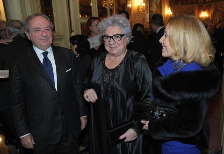 Excellent 2013 Il pres. del Tribunale Livia Pomodoro tra Achille e Giovanna Colombo Clerici