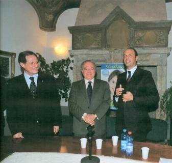 Mario Mantovani - Achille Colombo Clerici - Angelino Alfano