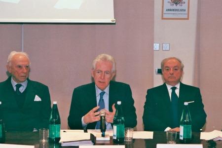 Il Dott. Giuseppe Barbiano di Belgiojoso, Il Prof. Monti e l'Avv. Achille Colombo Clerici