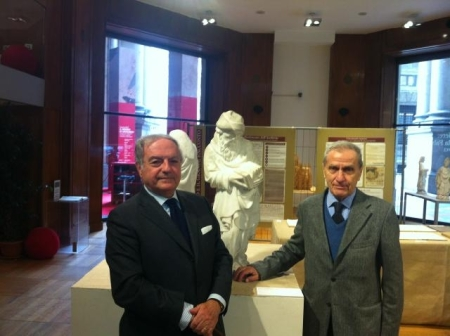 Achille Colombo Clerici con Carlo Bianchi 2