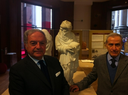 Achille Colombo Clerici con Carlo Bianchi