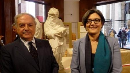 Colombo Clerici con Ada Lucia De Cesaris vice Sindaco di Milano