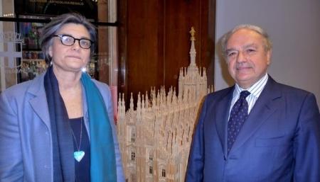 Colombo Clerici con Ada Lucia De Cesaris