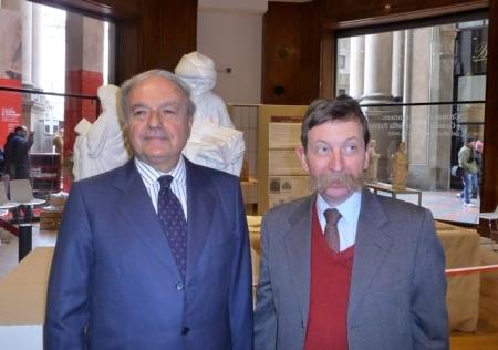 Colombo Clerici con Benigno Morlin Visconti Castiglioni Architetto della Fabbrica del Duomo