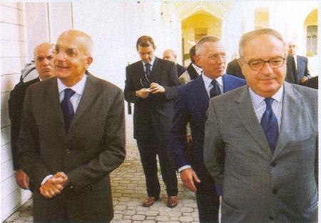 Colombo Clerici con Gabriele Albertini
