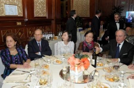 Laura Perego di Cremnago, Luigi Arborio Mella, Vice Console Cina, Console Generale di Cina Signora Liang Hui, Achille Colombo Clerici
