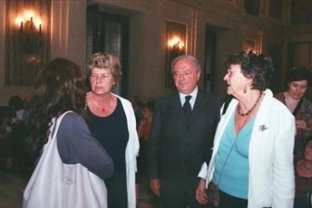 Colombo Clerici con Marilisa D'Amico, Rosanna Camusso e Francesca Zajczyk