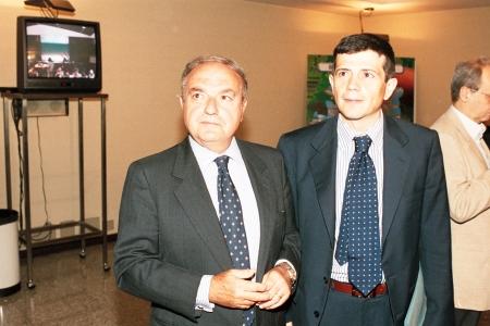 Colombo Clerici con Maurizio Lupi