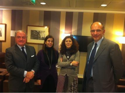 Colombo Clerici, Marilisa D'Amico, Anna Puccio, Enrico Letta