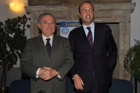 Presidente con Alfano
