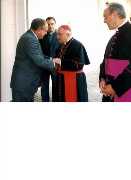 Presidente con Tettamanzi