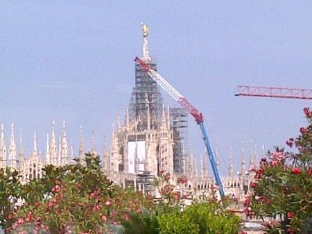 Milano lavori Duomo