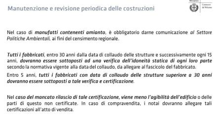 Regolamento edilizio comune di milano riceviamo e for Regolamento igiene milano
