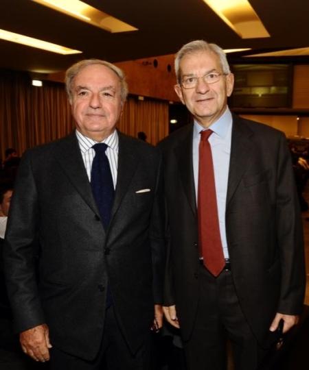 Colombo Clerici con Luciano Violante