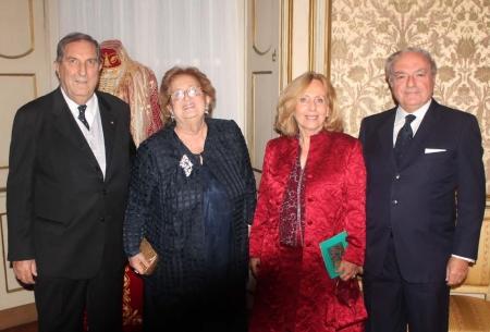 Rosario e Anna Maria Alessandrello, Giovanna e Achille Colombo Clerici