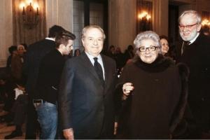 Achille Colombo Clerici con Livia Pomodoro 3