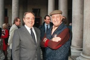 Colombo Clerici con Luigi Caccia Dominioni 2