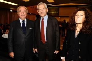 con Luciano Violante e Marilisa D'Amico