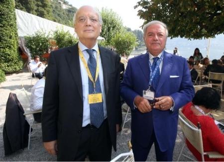 Achille Colombo Clerici con Lino Terlizzi