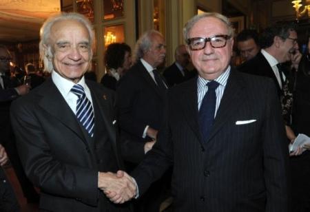 Colombo Clerici con Antonino Zichichi