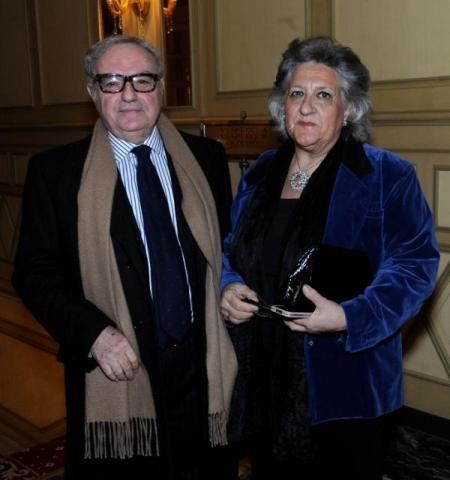 Colombo Clerici con Magda Antonioli Corigliano