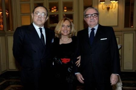 Colombo Clerici con Mario Mancini e la moglie Giovanna Colombo Clerici